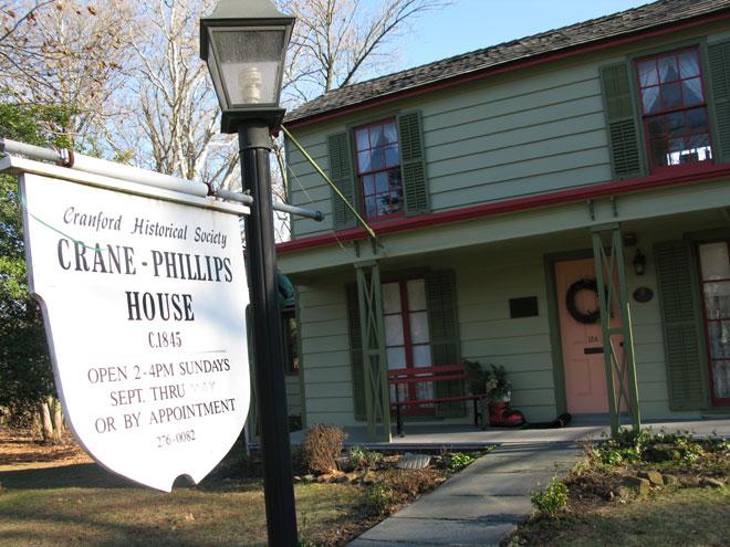 CRANFORD – Crane-Phillips House Museum Tour (Jan. 2020)