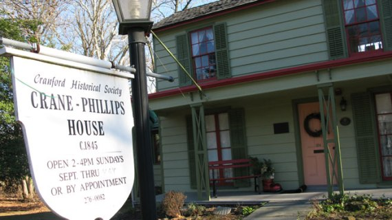 CRANFORD – Crane-Phillips House Museum Tour (Jan. 2020)