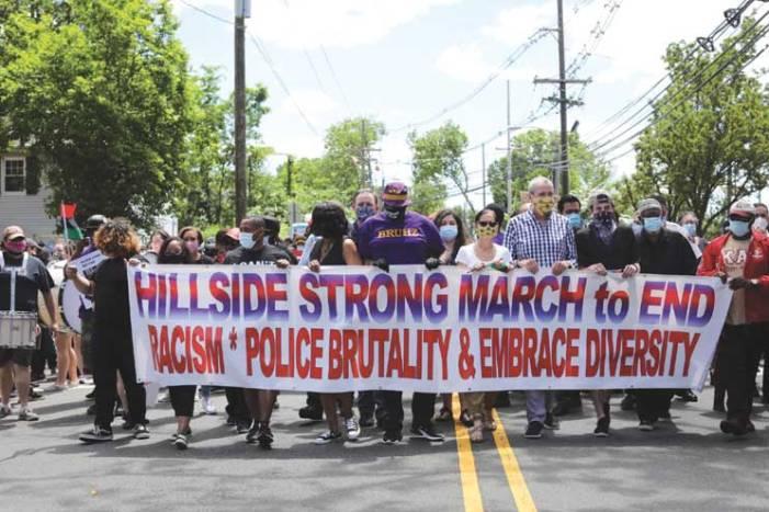 Murphy joins Black Lives Matter protest in Hillside