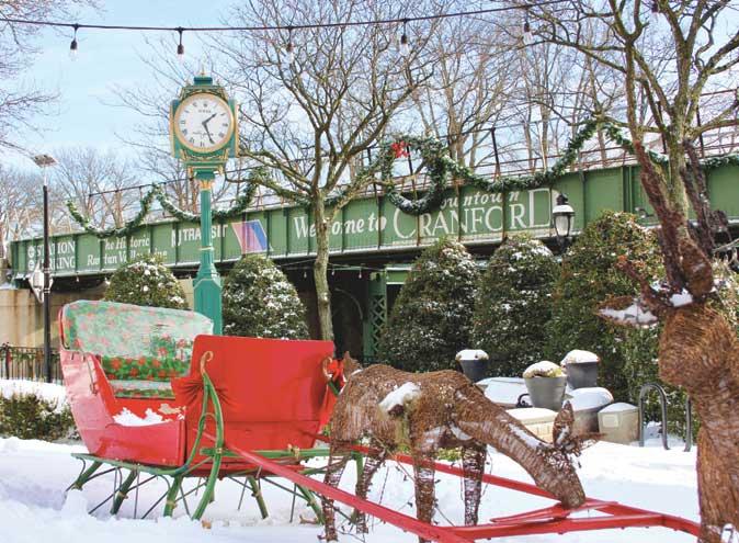 Snow makes Cranford into a winter wonderland