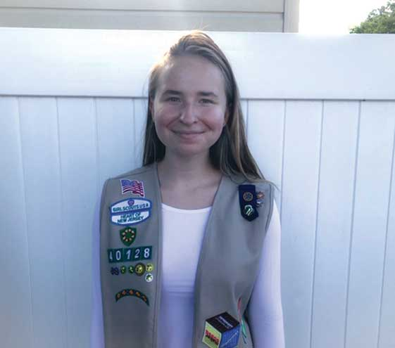 Gold Award Girl Scout creates Women in Leadership and Service club