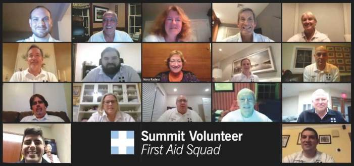 Summit Volunteer First Aid Squad elects new officers for 2021