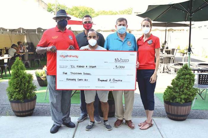 Rahway continues to support local businesses financially