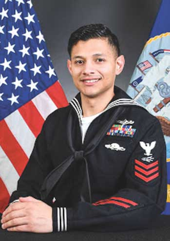 Union native is named Sailor of the Year while serving in Naples, Italy