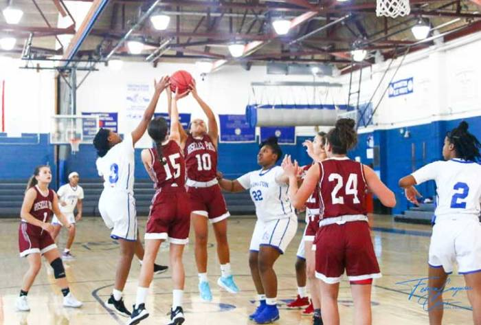 Roselle Park girls hoops defeats Irvington HS 26-20