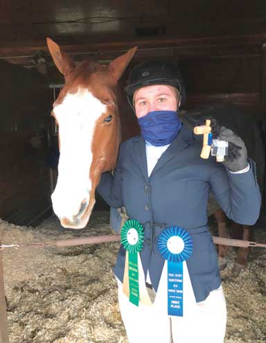 Mount Saint Mary senior from Westfield qualifies for equestrian championships