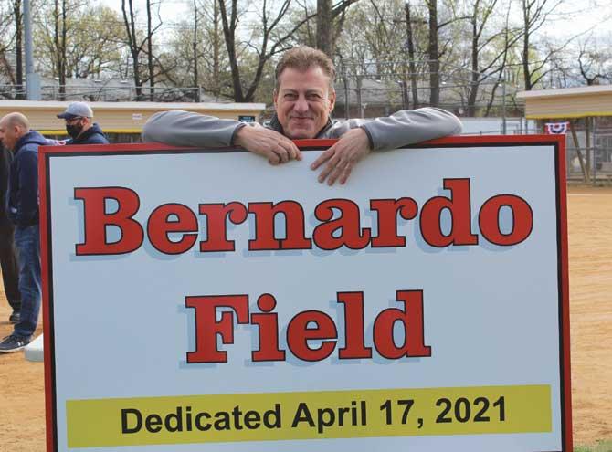 Clark softball field named for Ralph Bernardo