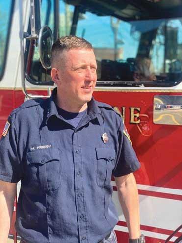 Firefighter helps NJ Sharing Network promote organ and tissue donation, transplantation