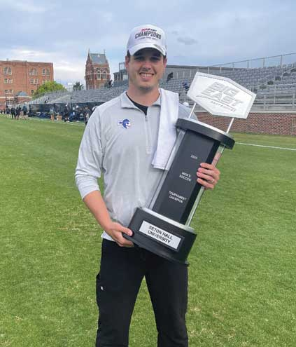 Rahway man praised for helping Seton Hall men's soccer team to victory