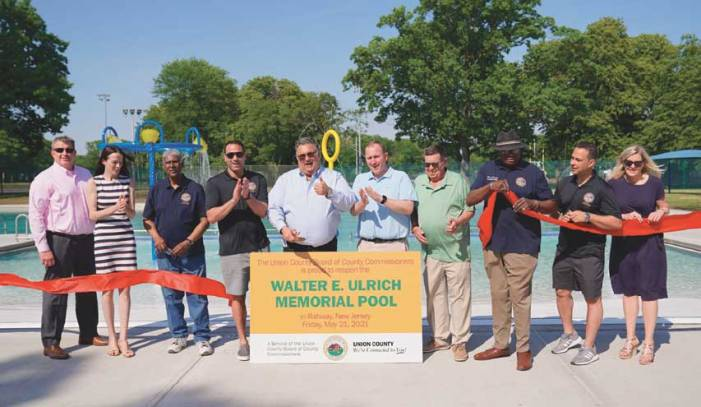 Just in time for summer fun, a makeover for Union County's Walter E. Ulrich Memorial Pool