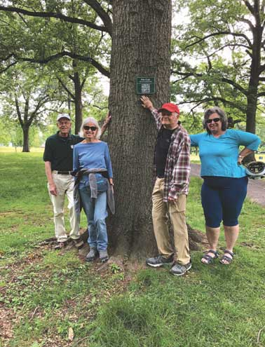New 'tree trail' in Rahway River Park identifies and introduces distinctive trees to visitors