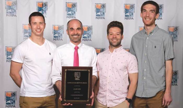 Springfield's Lieb recognized by New Jersey Recreation and Park Association