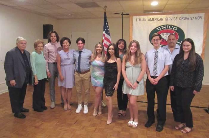 Clark UNICO board hosts its annual installation dinner