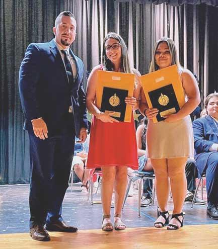 Louis DeMondo Civic Association awards scholarships to David Brearley seniors
