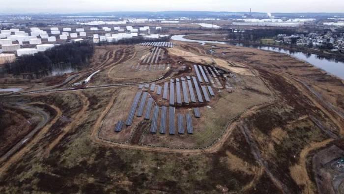 New community solar plant will benefit Linden