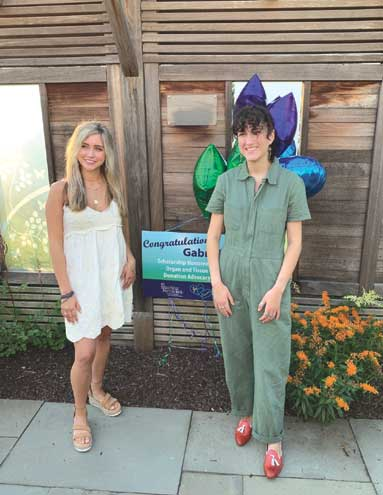 Teenager awarded scholarship from the NJ Sharing Network Foundation