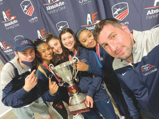 NJ fencing club brings home four national titles and 10 medals in 2021 U.S. National Championships