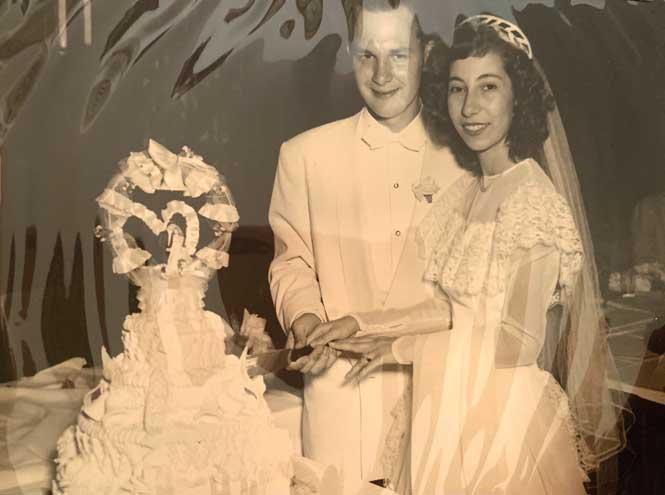 Union couple celebrates 70th wedding anniversary