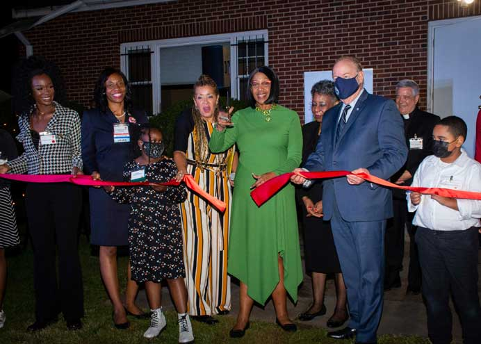 Lieutenant governor calls the Institute of Music for Children the 'best-kept secret in New Jersey' at ribbon-cutting event