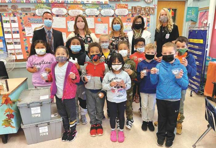 $58,000 donation from Phillips 66 funds science kits for Linden's second-graders