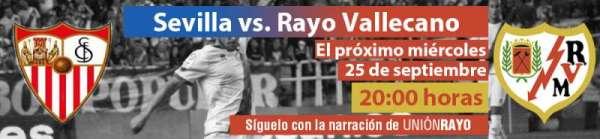 Cabecera Sevilla - Rayo Vallecano