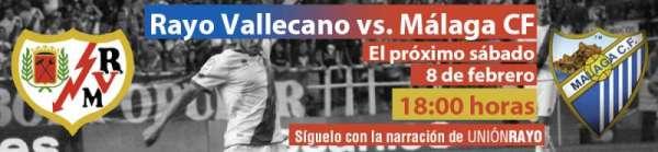 Cabecera Rayo Vallecano - Málaga CF