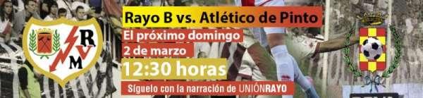 Rayo B - Atlético de Pinto