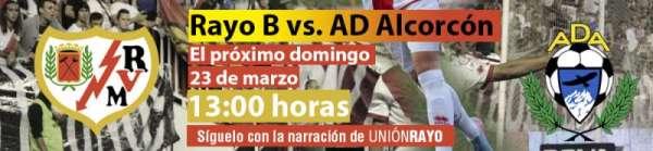 Rayo B - AD Alcorcón