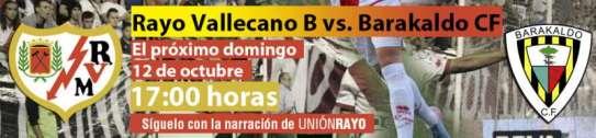 Cabecera Rayo Vallecano B - Barakaldo CF