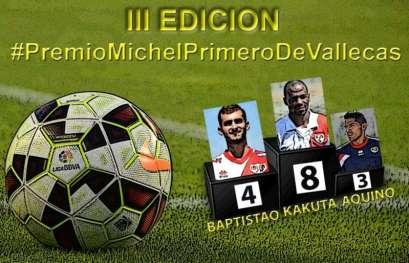 Cartel Premio Michel Primero deVallecas JR8