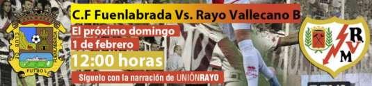 Cabecera CF Fuenlabrada - Rayo B