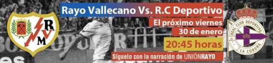 Rayo - Deportivo