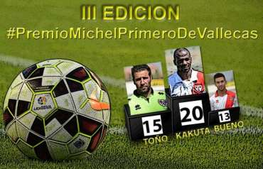 Cartel Premio Michel Primero deVallecas JR 36