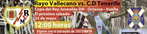 Rayo Vallecano - CD Tenerife Juvenil DH