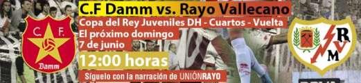 CF Damm - Rayo Vallecano DH