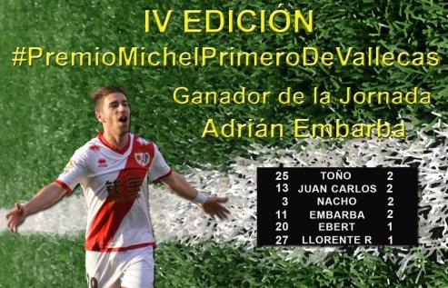 J3 GANADOR Premio Michel Primero de Vallecas