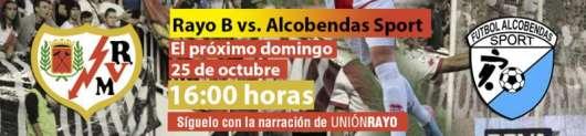 Rayo B - Alcobendas Sport