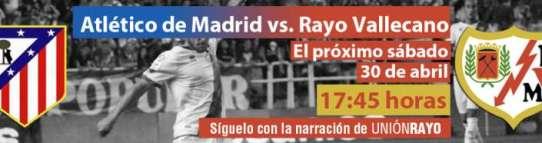 Cabecera Atlético de Madrid - Rayo Vallecano liga