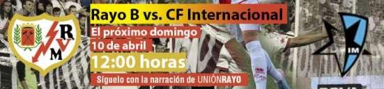 Rayo Vallecano B - inter