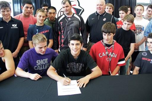 Junior Godinho signs with Northern Idaho