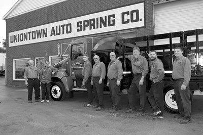 Uniontown Auto Spring Group Image Outside of Office