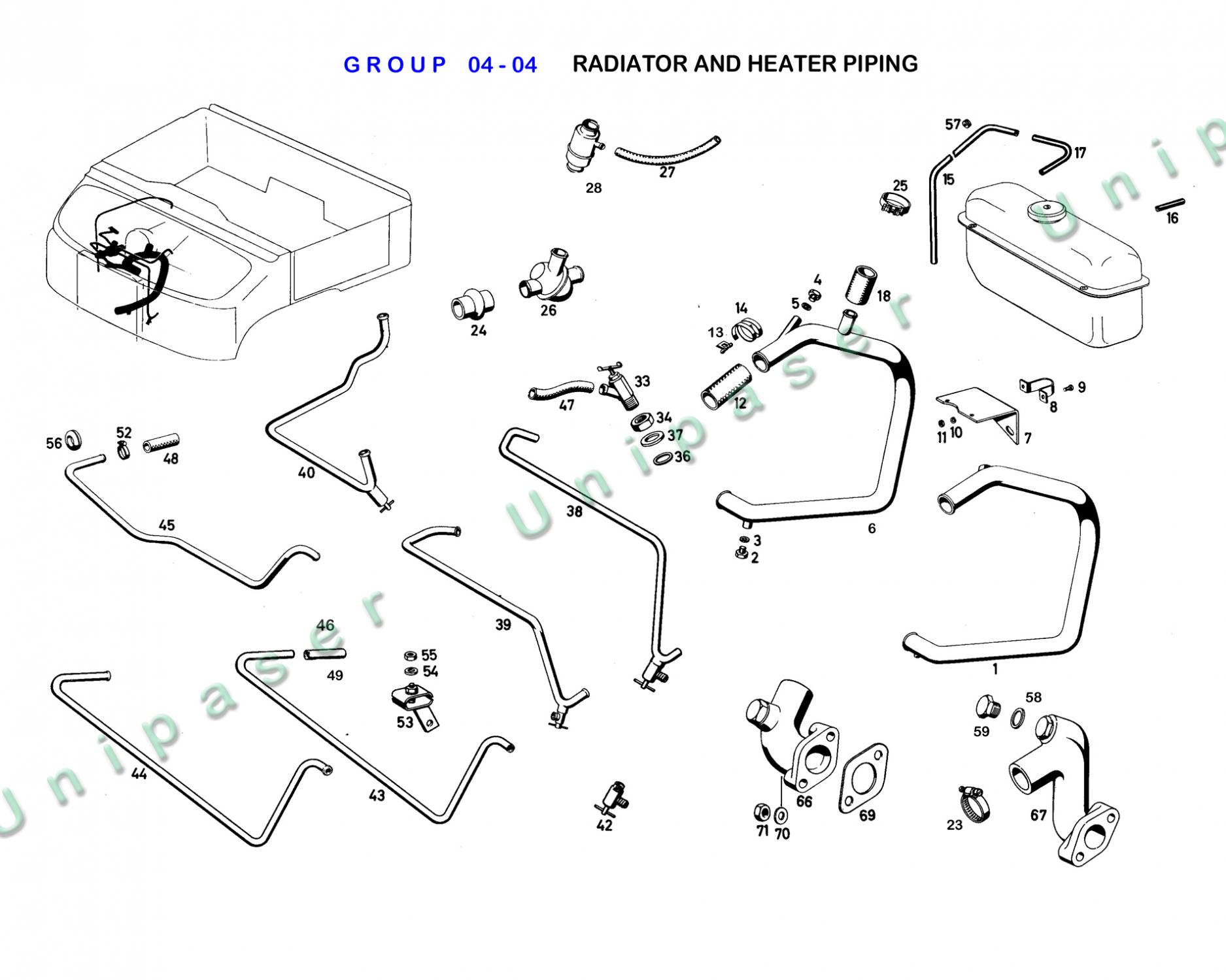 04 04 Radiator And Heater Piping