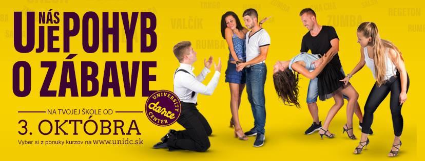 Oficiálny plagát (FOTO: FB Univerzity dance center)