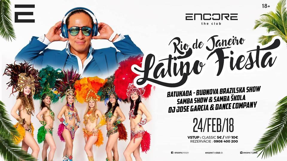 Latina Fiesta v Encore (Foto: FB Encore)