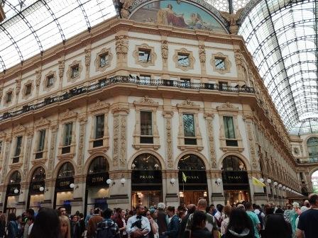Galleria Vittorio Emanuele (Foto: Henrieta Hlinková)