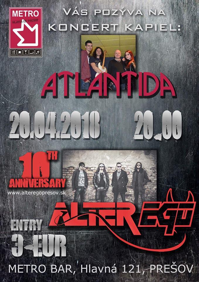 Pozvánka na koncert (Foto: ATLANTIDA PO)