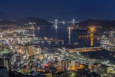 九州長崎市:日本 2018 新夜景聖地 NO.1 第一名