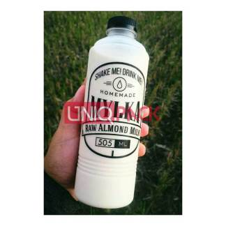 botol almond 500ml