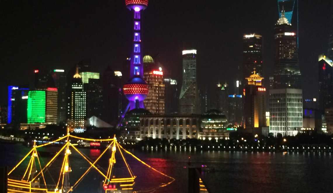 Shanghai – the most westernized city in China