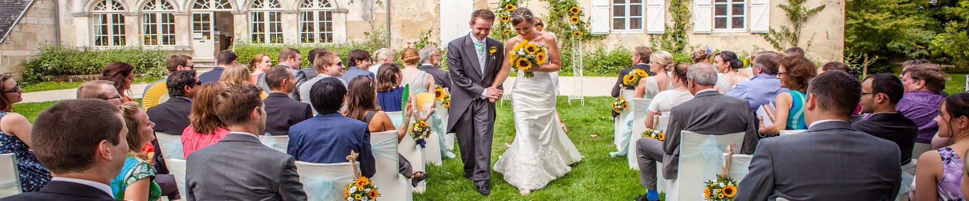 wedding ceremony in france - wedding celebrants in france - wedding planners